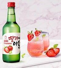 Rượu Soju Dâu Jinro