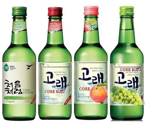 Rượu soju bao nhiêu độ?