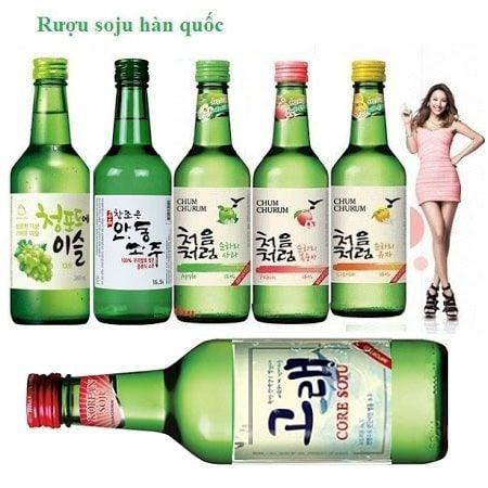 Rượu soju giá sỉ