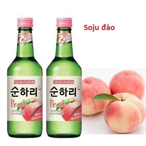 Rượu Soju đào mua ở đâu