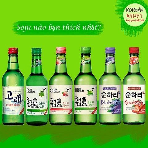 Mua rượu soju Hà Nội