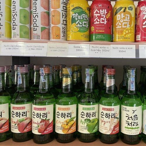 Rượu soju trái cây bao nhiêu độ