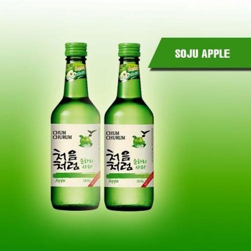 Soju táo hương vị tươi mới