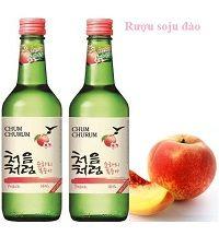 Rượu soju đào-peach