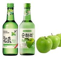 Rượu soju chum churum táo-apple