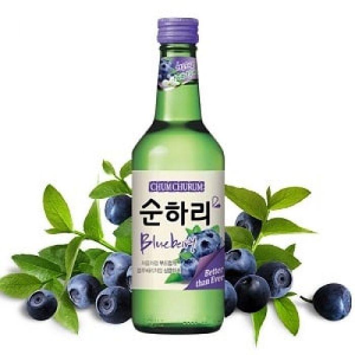 Rượu soju việt quất