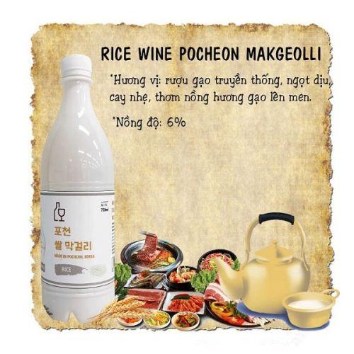 Rượu gạo Hàn Quốc loại nào ngon
