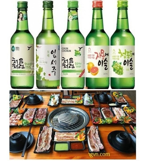 Soju Hàn Quốc