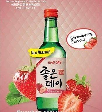 Rượu soju Dâu Good Day
