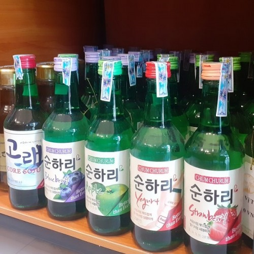 Giá rượu soju trái cây