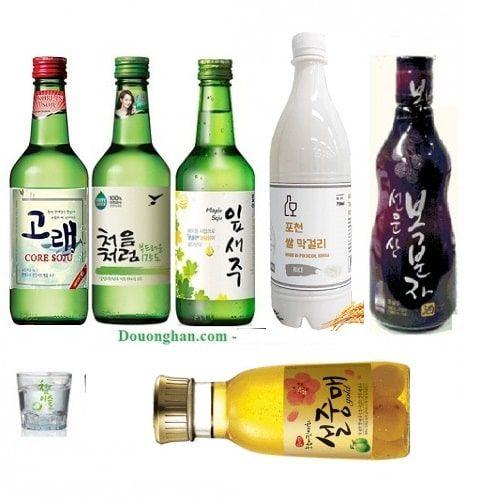 Bạn có biết 7 loại rượu nổi tiếng Hàn quốc