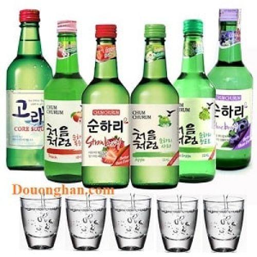Rượu soju Bắc Ninh Bắc Giang Thái Nguyên