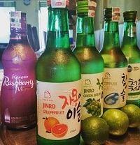 Rượu soju bưởi Chamisul grapefruit