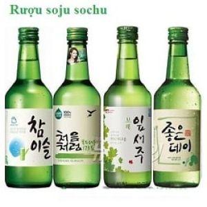 Rượu soju sochu