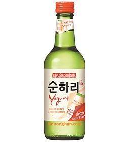 Rượu soju sữa chua chum churum