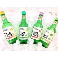 Rượu soju hoa quả hương vị Hàn Quốc
